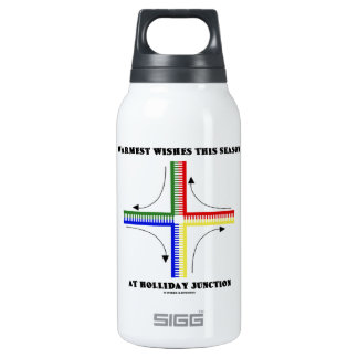 Warmest Wishes This Season At Holliday Junction 0.3L Insulated SIGG Thermos Water Bottle