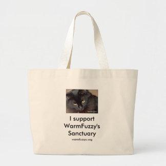 WarmFuzzy's Jumbo Tote Bag