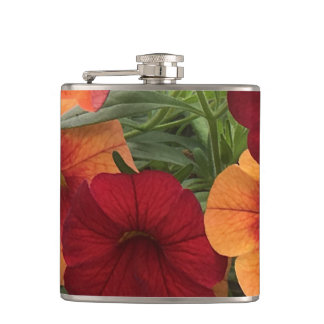 Warmth Of The Sun Floral Hip Flask