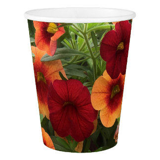 Warmth Of The Sun Floral Paper Cup
