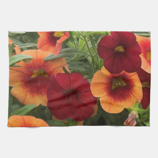 Warmth Of The Sun Floral Tea Towel