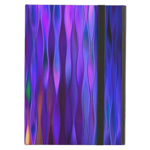 Warmth Within Cool Blue Waters Abstract Design iPad Air Cover