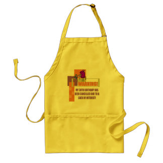 Warning 30th Birthday Gifts Standard Apron