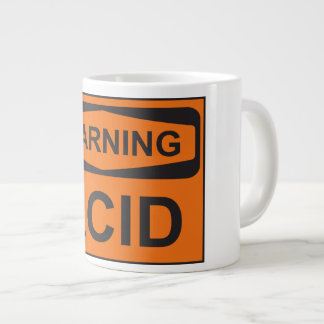 WARNING! ACID! LARGE COFFEE MUG