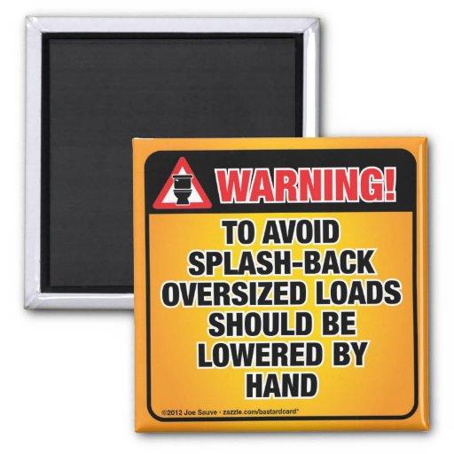 WARNING - Avoid Splash-Back Bathroom Magnets