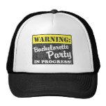 Warning: Bachelorette Party In Progress