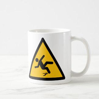 Warning Banana Peel Slippery Coffee Mug