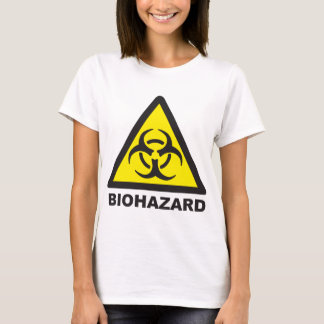 Warning Biohazard Sign T-Shirt