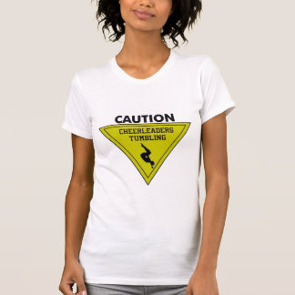 Warning cheerleader T-Shirt