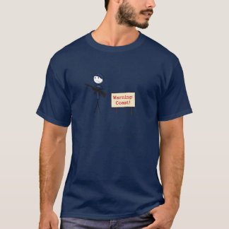 """""""Warning Coast"""" T-Shirt"""