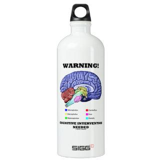 Warning! Cognitive Intervention Needed SIGG Traveler 1.0L Water Bottle