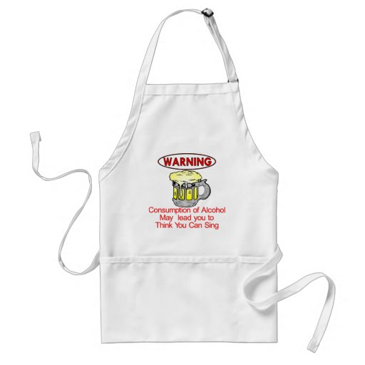 Warning: Consumption Of Alcohol Aprons