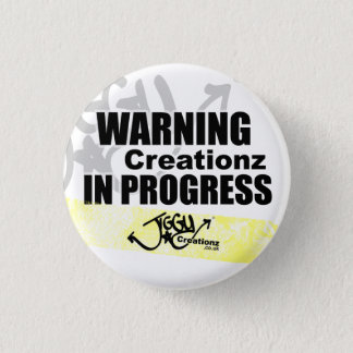 Warning Creationz in Progress Badge