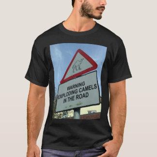 warning: exploding camels T-Shirt