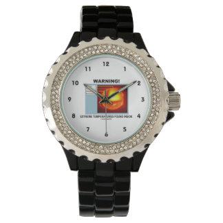 Warning! Extreme Temperatures Found Inside Wrist Watch
