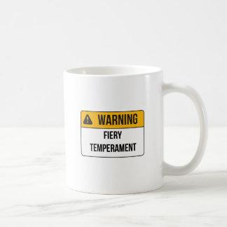 Warning - Fiery Temperament Mug