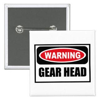 Warning GEAR HEAD Button