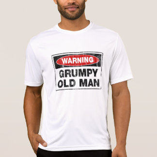 Warning Grumpy Old Man T-Shirt