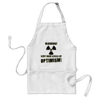 Warning! High Levels of Optimism! Standard Apron