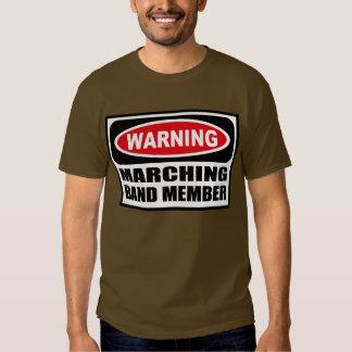Warning MARCHING BAND MEMBER Men's Dark T-Shirt