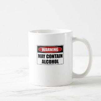 Warning May Contain Alcohol Coffee Mug