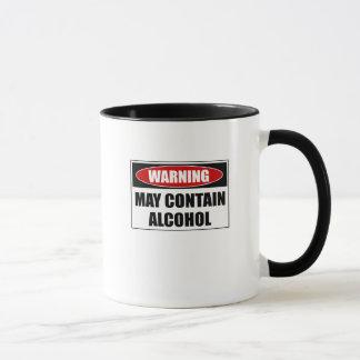 Warning May Contain Alcohol Mug