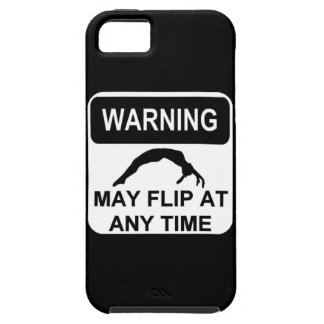 Warning may flip iPhone 5 cover
