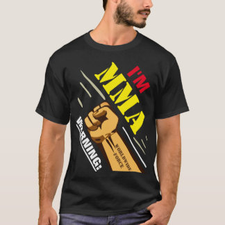 WARNING Mixed Martial Artist T-Shirt