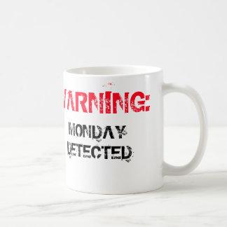 Warning: Monday Detected Mug