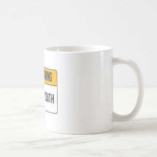 Warning - Potty Mouth Coffee Mug