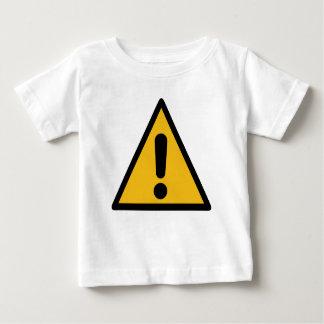 Warning Sign Baby T-Shirt
