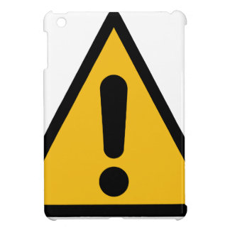 Warning Sign Case For The iPad Mini
