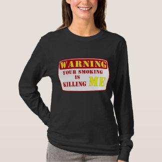 Warning Smoking is Hazardous T-Shirt