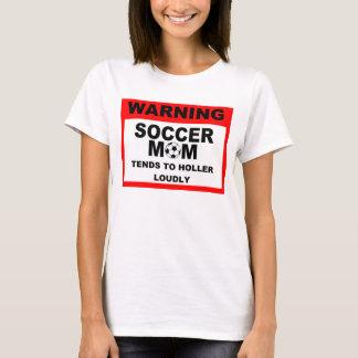 Warning Soccer Mom Tee