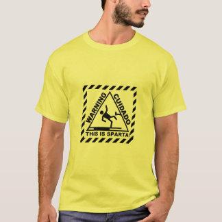 WARNING SPARTA T-Shirt