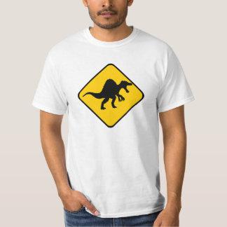 Warning Spinosaurus T-Shirt