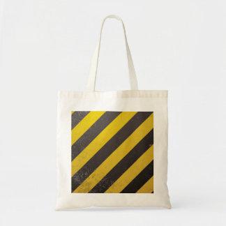 Warning stripe bags