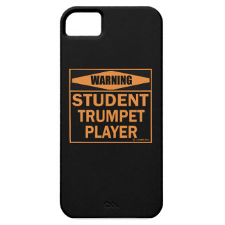 Warning! Student Trumpet Player! iPhone 5 Cases