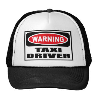 Warning TAXI DRIVER Hat