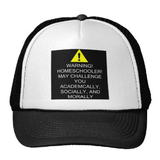 Warning! Trucker's Cap