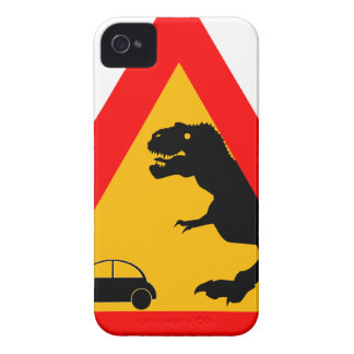 Warning Tyrannosaurus Rex iPhone 4 Case