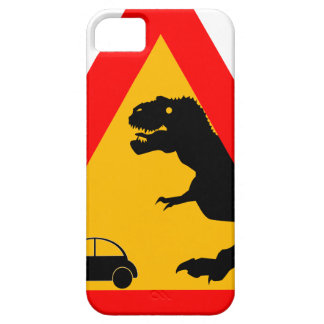 Warning Tyrannosaurus Rex iPhone 5 Cases