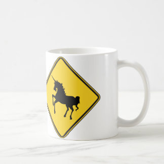 Warning Unicorns Coffee Mug