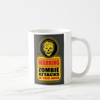 Warning Zombie Attacks Mug
