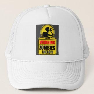 Warning Zombies Ahead Cap