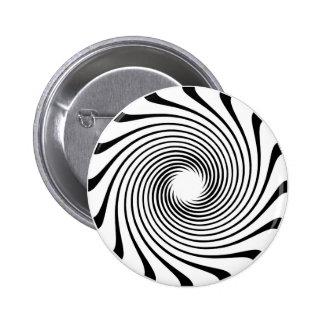 Warp Drive Design 6 Cm Round Badge