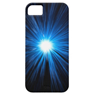 Warp speed blue. iPhone 5 cover