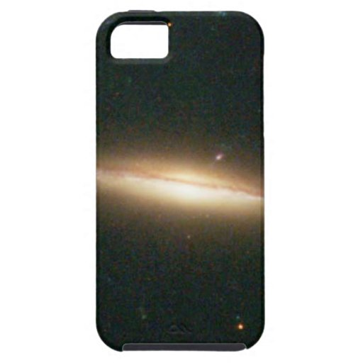 Warped, Edge-On Spiral Galaxy (Details from Image iPhone 5 Cover