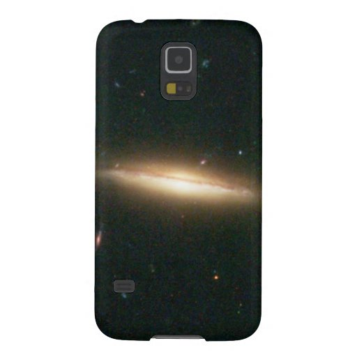 Warped, Edge-On Spiral Galaxy (Details from Image Case For Galaxy S5