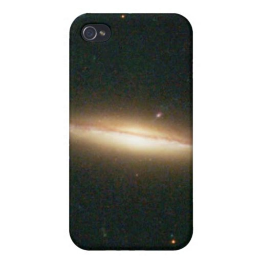 Warped, Edge-On Spiral Galaxy (Details from Image iPhone 4/4S Case